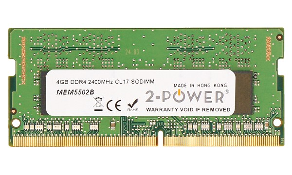 Pavilion 15-cc103ng 4GB DDR4 2400MHz CL17 SODIMM