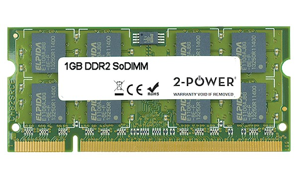 XPS M1210 Entry 1GB DDR2 667MHz SoDIMM