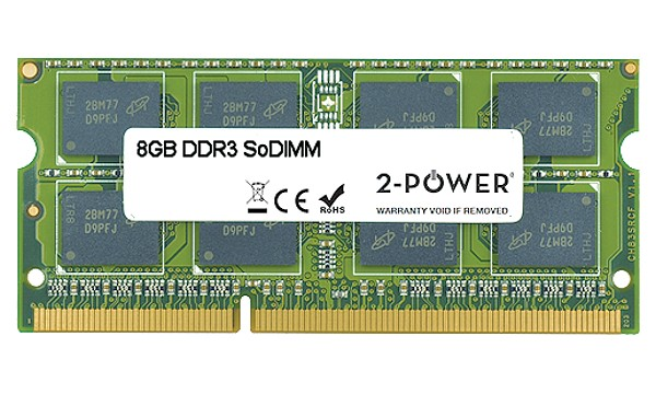 B50-50 8GB MultiSpeed 1066/1333/1600 MHz SODIMM