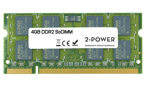 Satellite L350-15O 4GB DDR2 800MHz SoDIMM