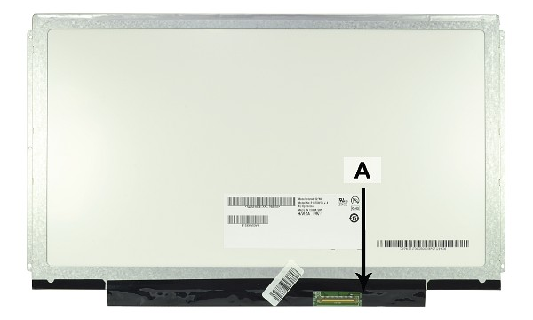 "Ideapad U350 2963-27U 13.3"" HD 1366x768 LED Matte"