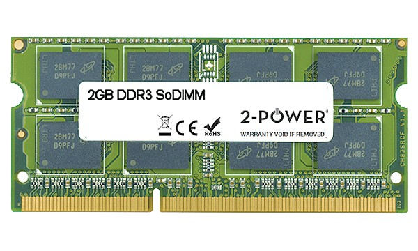 Satellite Pro L550-1CT 2GB DDR3 1066MHz DR SoDIMM