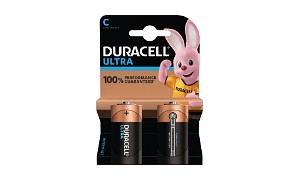 Duracell Ultra Power C Size Pack of 2