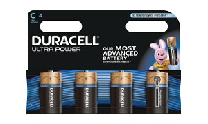 Ultra Power C Cell - 4 Pack