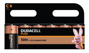 Plus Power C Cell - 6 Pack