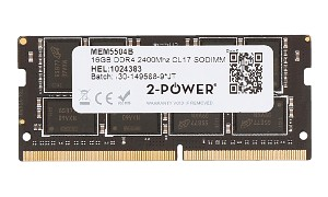 16GB DDR4 2400MHz CL17 SODIMM